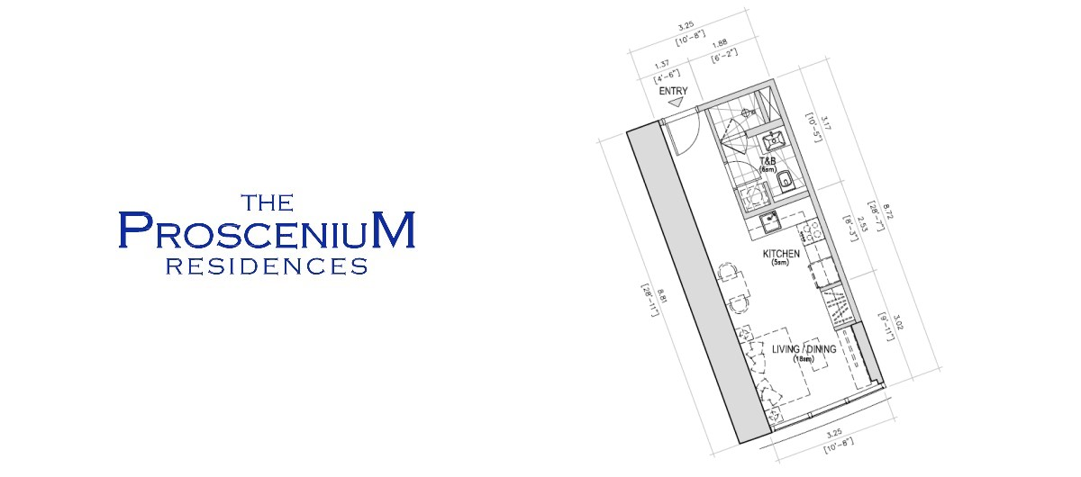 The Proscenium Residences Tower ST 29SQM